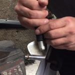 Picture of golf club head shaping